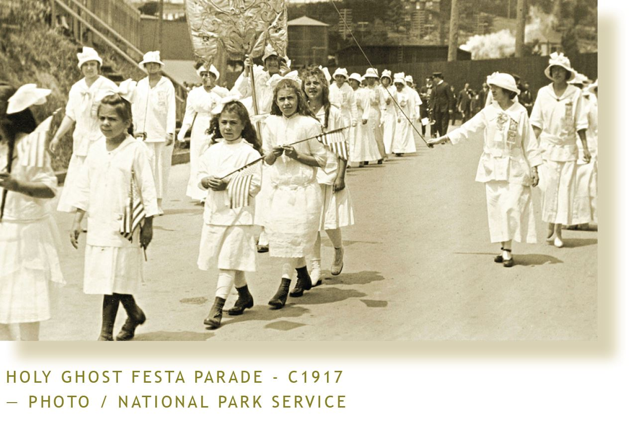 Sausalito Holy Ghost Festa Parade-1917