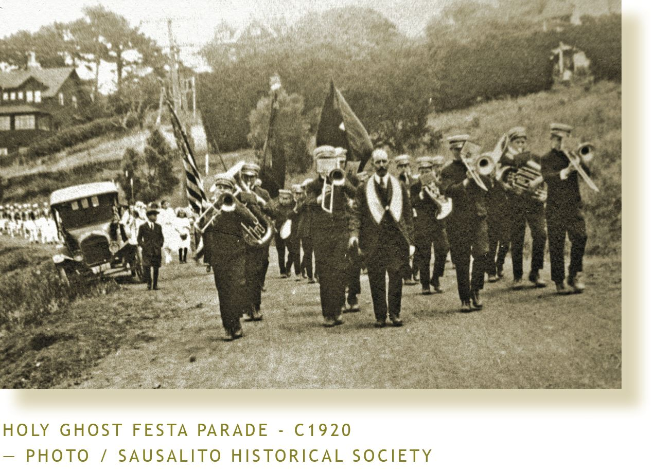 Sausalito Holy Ghost Festa Parade-1920